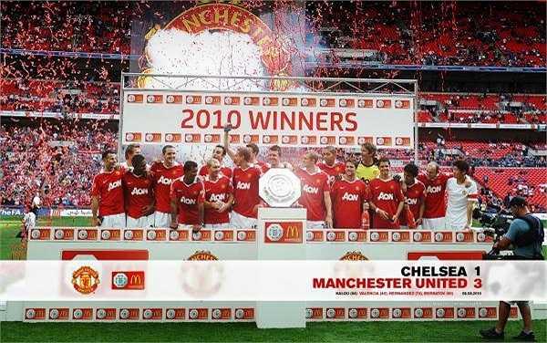 Sau đó, Quỷ đỏ tiếp tục đánh bại Chelsea với tỉ số 3-1 để giành siêu cup nước Anh.