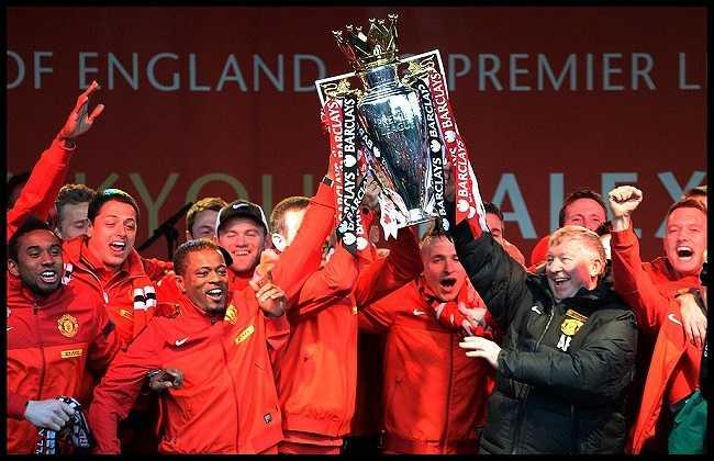 Chức vô địch Premier League lần thứ 20 trong lịch sử ở mùa giải 2012-2013, cũng là danh hiệu cuối cùng trong sự nghiệp của Sir Alex.