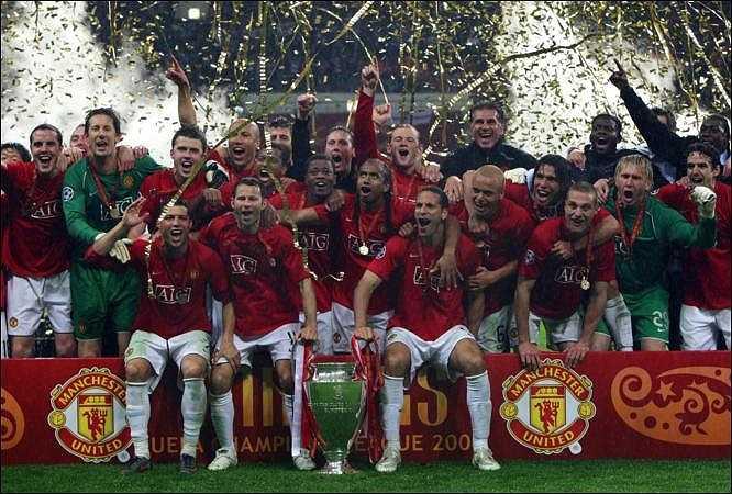 Sau đó là chiến thắng lịch sử trước Chelsea trong trận chung kết Champions League tại Moscow.