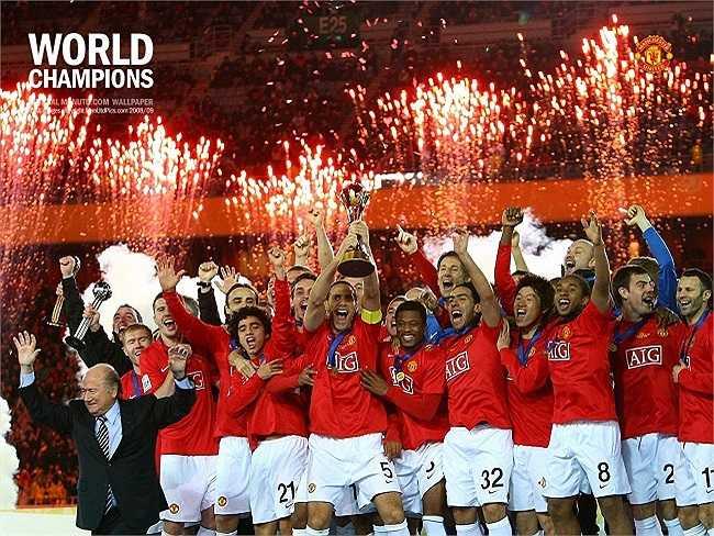 Cũng trong năm 2008, đoàn quân của Sir Alex đã giành được chức vô địch thế giới các CLB.