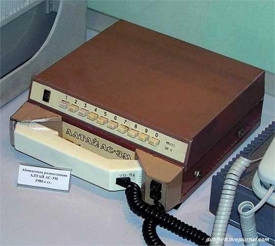 Đến năm 1994, mạng lưới các điện thoại vô tuyến di động tự động 'Altai' có mặt tại 120 thành phố của Liên Xô cũ, chiếm 53% tổng người dùng điện thoại.