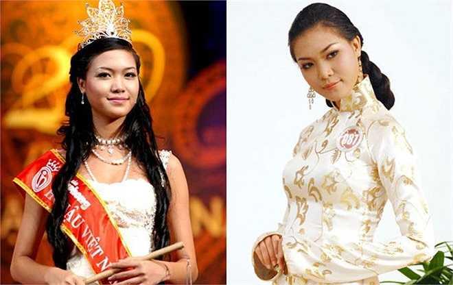 Trần Thị Thuỳ Dung vào thời điểm đăng quang Hoa hậu Việt Nam 2008 sở hữu chiều cao 1m78 cùng số đo 3 vòng 86 - 61,5 - 91 và một làn da nâu sáng của con gái miền biển.