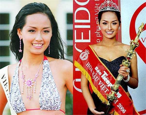 Tại cuộc thi Hoa hậu Việt Nam 2006, Mai Phương Thuý có các số đo hình thể: chiều cao 1,79m, nặng 60kg, số đo ba vòng 86 - 62 - 95, làn da bánh mật khoẻ khoắn.