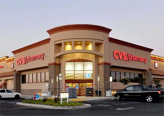 CVS / pharmacy – 17,8 tỷ USD: là công ty dược phẩm  nổi tiếng nhất nước Mỹ hiện nay với 7600 cửa hàng  và có mặt tại 45 trên 50 tiểu bang. CVS / pharmacy cũng là thương hiệu đầu tiên nói không với buôn bán thuốc lá.