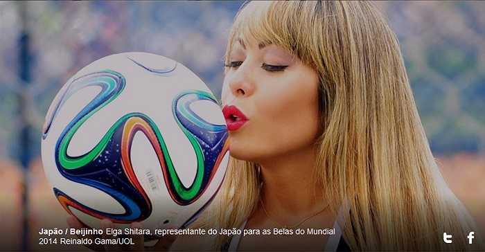 Nếu như mục tiêu của Nhật Bản ở vòng chung kết World Cup lần này là lọt vào tứ kết thì có lẽ Sorriso Elga Shitara chỉ mơ tới vòng 2.