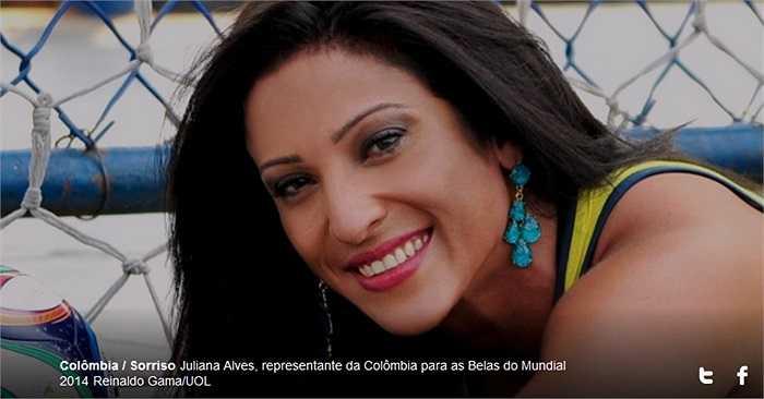 Một bất ngờ khác lại đại diện của Colombia