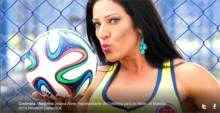 Người đẹp Rosto Juniana Alves