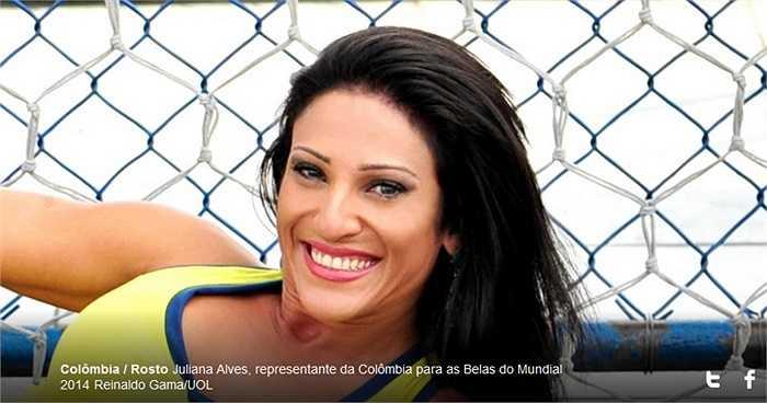 Rosto Juniana Alves là một trong những khuôn mặt già nhất cuộc thi lần này.