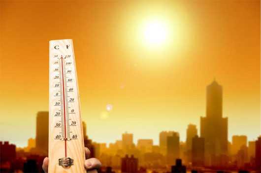 nắng nóng, thời tiết
