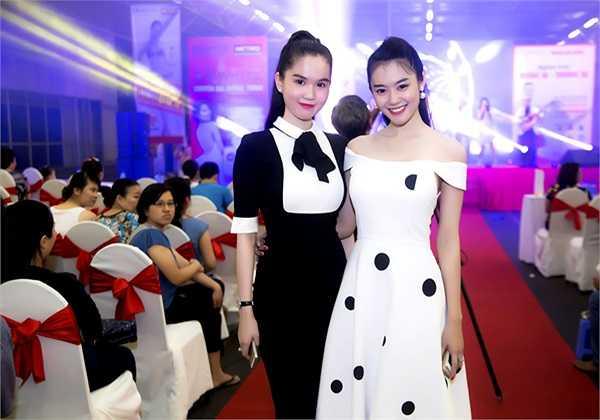 Ngọc Trinh đọ sắc với Á khôi Miss Ngôi Sao 2011 Linh Chi.