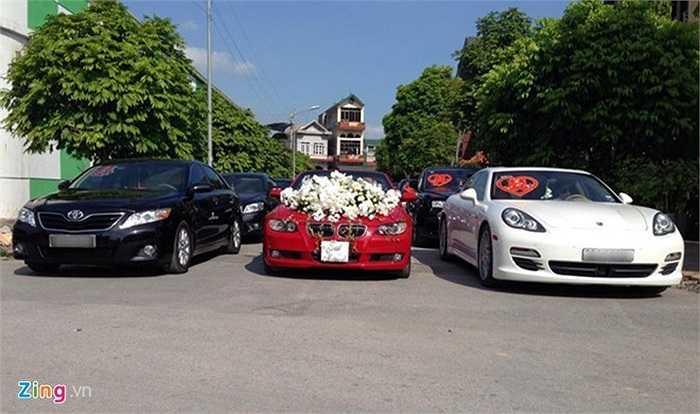 Đám cưới con một đại gia nổi tiếng vùng đất Mỏ diễn ra lúc 15h30 chiều qua (1/6) tại thị trấn Mạo Khê, Quảng Ninh.