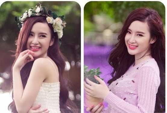 Angela Phương Trinh xinh đẹp ngọt ngào, khác xa những hình ảnh sexy nóng bỏng thường thấy khi biểu diễn trên bar.