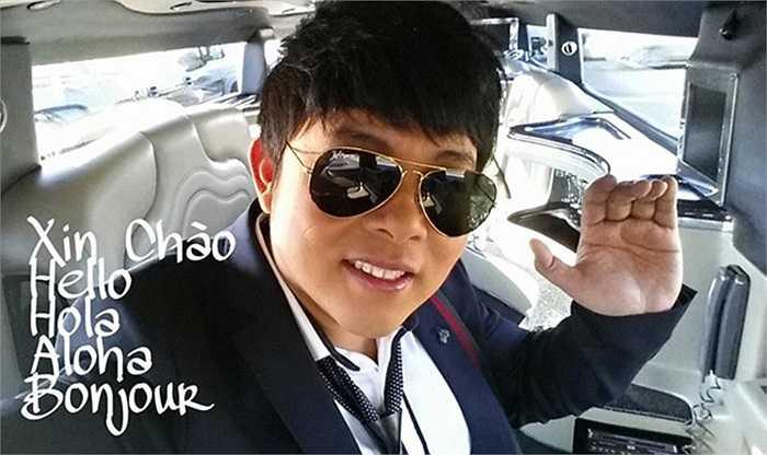 Quang Lê mới đây chia sẻ tấm hình anh ngồi trên xế hộp Limousine gây chú ý với lời nhắn gửi: 'Hello cả nhà, hôm nay đi làm, ngồi một mình trên Limo cũng buồn, có ai đi cùng không nè?'.