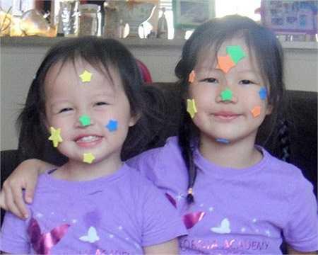 Nụ cười đáng yêu của các bé