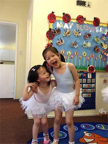 Những hình ảnh vui vẻ của các thiên thần nhỏ