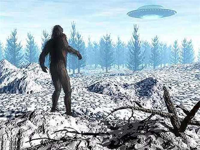 Rất nhiều người tin rằng Bigfoot là người đưa tin của các UFO. Khi các UFO ghé thăm trái đất thì các Bigfoot sẽ có mặt để làm người chỉ điểm cho họ.