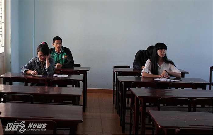 Một học viên của lớp năng khiếu