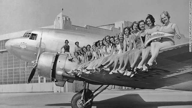 Năm 1936: Douglas DC-3 được đưa vào sử dụng trong chuyến bay của American Airlines từ Newyork đến Chicago. Đó là máy bay làm thay đổi thế giới về độ nhanh so với các loại máy bay khác cùng thời.