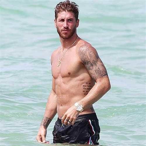 Sergio Ramos, ngôi sao sở hữu vẻ đẹp nam tính nhất ĐT Tây Ban.