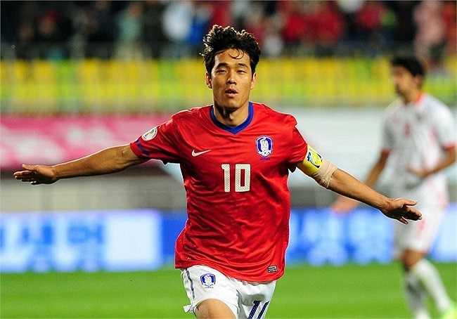 Park Chu Young - tuyển thủ người Hàn Quốc là ngôi sao duy nhất của Châu Á góp mặt trong danh sách này.