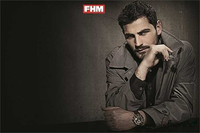 Vẻ đẹp khó cưỡng của thủ môn ĐT Tây Ban Nha, Iker Casillas.