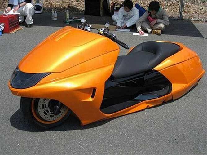 Lại một mẫu xe máy concept?