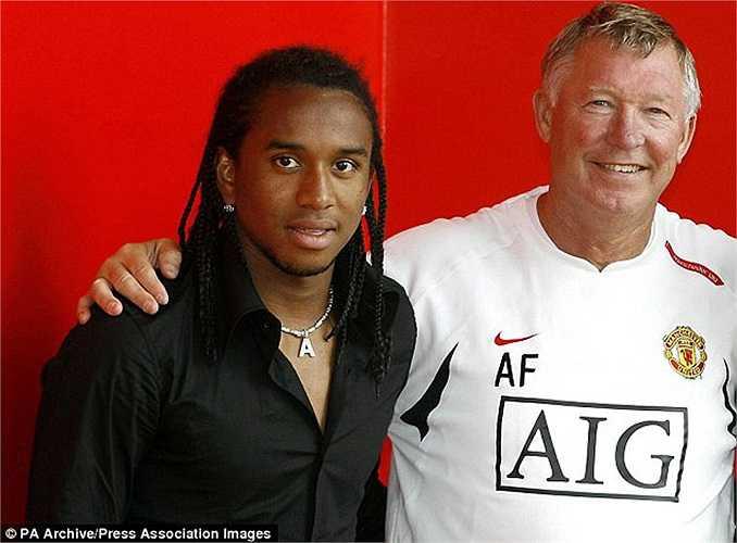 Cùng giá với Cassano còn có hợp đồng hớ Anderson của Man Utd. Sir Alex Ferguson đã phải trả một số tiền lớn cho cầu thủ chỉ mới 19 tuổi