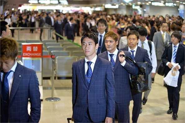 Đội tuyển Nhật Bản ở World Cup này có rất nhiều ngôi sao đang thi đấu ở châu Âu