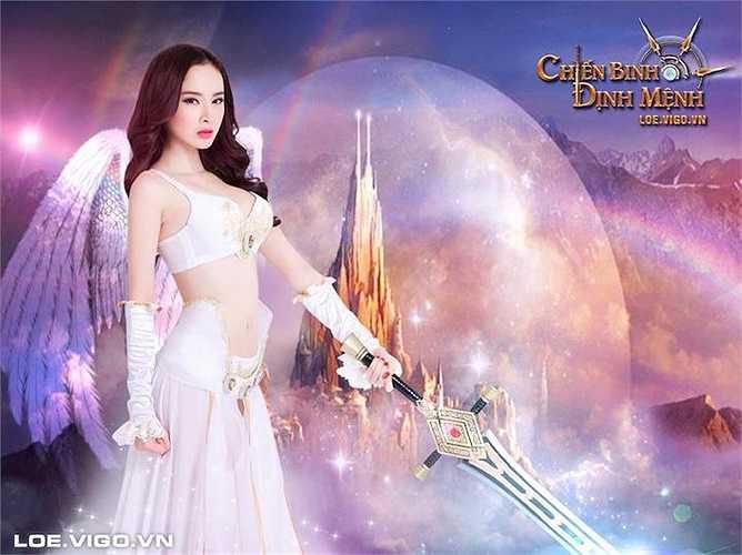 Angela Phương Trinh là một trong những gương mặt trúng nhiều hợp đồng làm đại diện cho game nhất nhờ vẻ ngoài gợi cảm và độ nóng chưa bao giờ thuyên giảm.