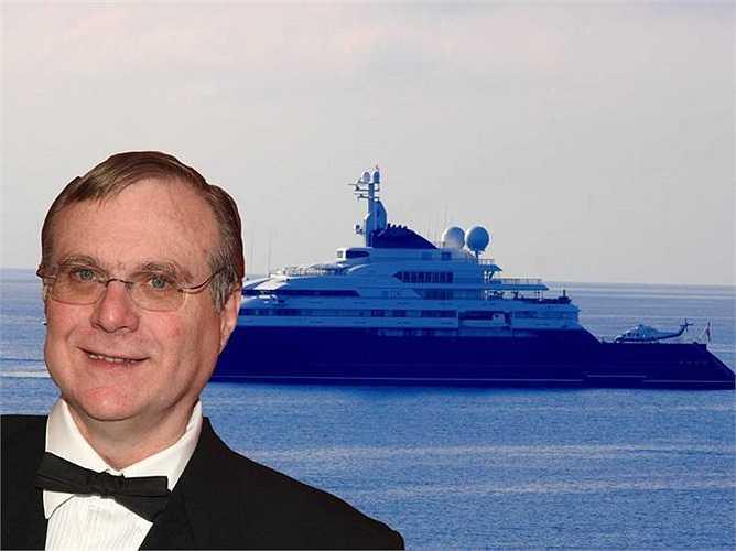 Tỷ phú Paul Allen sở hữu du thuyển Octopus hiện đại. Có thể ông dùng du thuyền  này để du lịch trên biển Địa Trung Hải