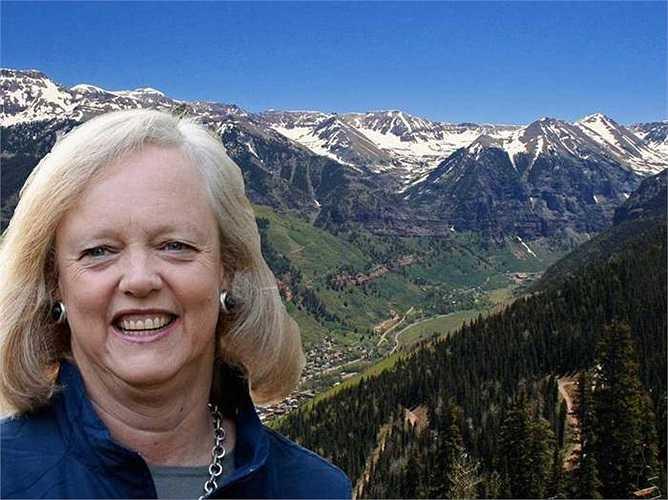 Chủ tịch hãng HP - Mag Withman sở hữu một ngôi nhà trên núi và một trang trại ở Colorado.