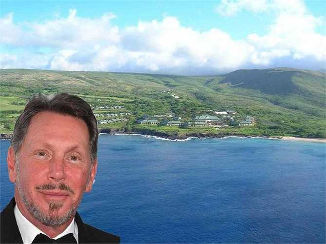 Tỷ phú Larry Ellison sẽ tới đảo riêng ở Hawail để trải nghiệm mùa hè. Đây là hòn đảo mà tỷ phú này đã mua hồi năm 2012 với giá 500 triệu USD.