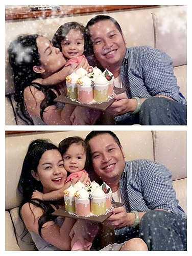 Từ khi có con gái đầu lòng, tổ ấm của Phạm Quỳnh Anh - Quang Huy lúc nào cũng ngập tràn tiếng cười hạnh phúc