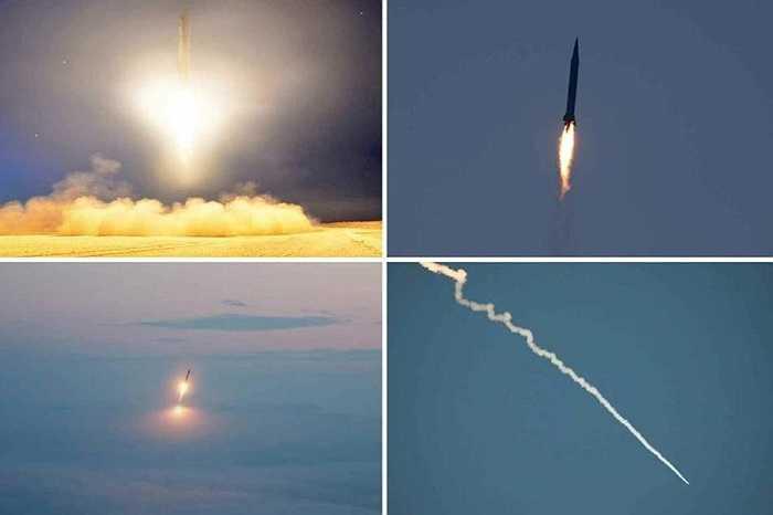 Ảnh chụp tên lửa tầm trung của Triều Tiên
