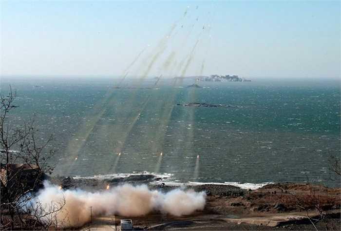 Triều Tiên thường tập trận, thử tên lửa mỗi khi có căng thẳng với Hàn Quốc