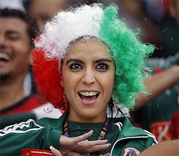 Những CĐV Mexico mang đến World Cup màu sắc không thể trộn lẫn.