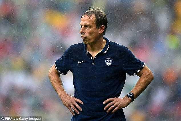 Klinsmann chỉ trích FIFA bố trí một trọng tài thuộc nước nói tiếng Pháp để điều khiển trận đấu Bỉ-Mỹ