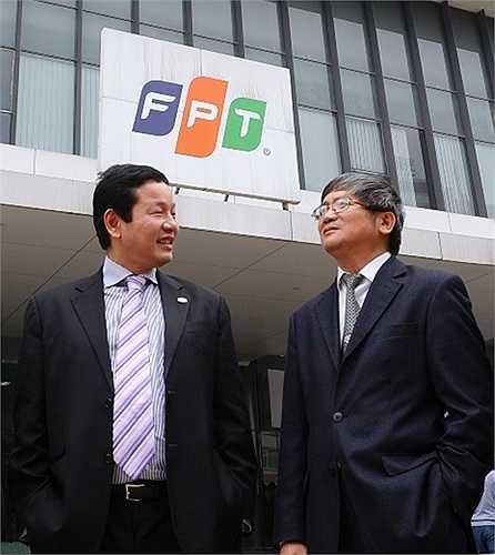 Một trong những cặp bài trùng nổi tiếng trên thương trường là Trương Gia Bình – Bùi Quang Ngọc, hai sếp lớn của Tập đoàn FPT.
