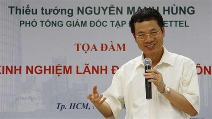 Nhiều người biết về vai trò của Tổng giám đốc Nguyễn Mạnh Hùng tại Viettel