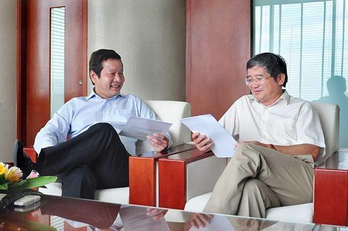 Chơi thân với nhau từ thuở thiếu thời nên ông Bình và ông Ngọc đủ hiểu nhau để củng cố sức mạnh cho FPT.