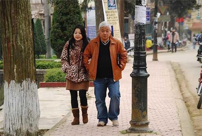 Vợ chồng bầu Kiên cũng là cặp bài trùng được nhắc tới nhiều trên báo chí.