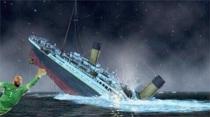 Howard ngăn thảm họa chìm tàu Titanic