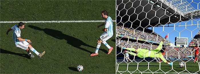 Và bàn thắng ấn định tỉ số của Di Maria cho Argentina.