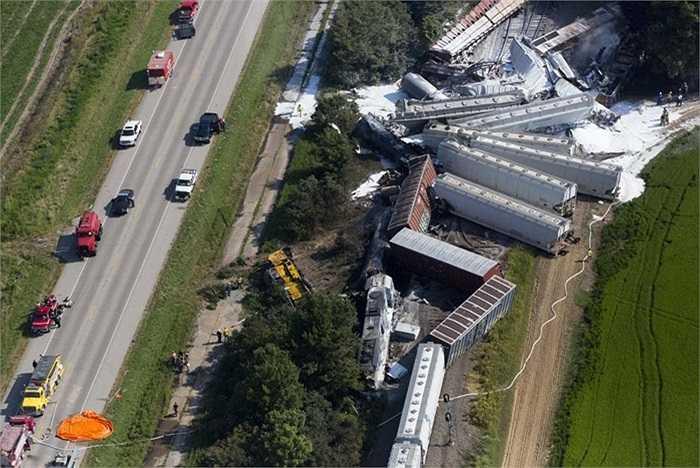 Vụ tai nạn xảy ra ở thị trấn Hoxie, bang Arkansas, Mỹ khiến 4 người thương vong