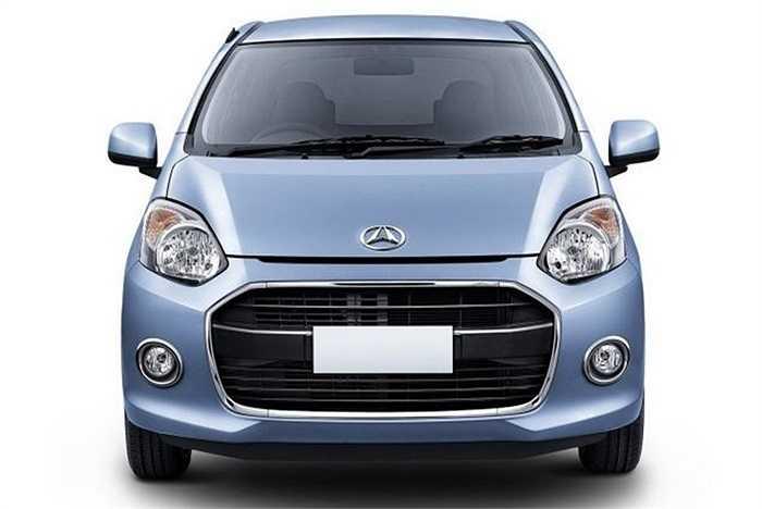 8. Daihatsu Ayla (6.386 USD). Người Indonesia thích các phương tiện giao thông giá rẻ, và Toyota Ayla là thứ mà họ cần. Chiếc xe được trang bị động cơ 1 lít 3 xi lanh.