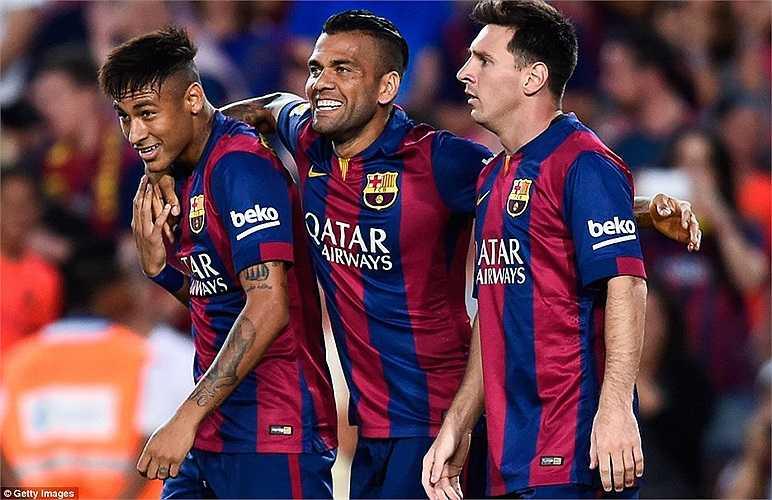 Barca duy trì đội hình khá dày khi đôn các cầu thủ trẻ từ lò La Masia lên đội hình 1