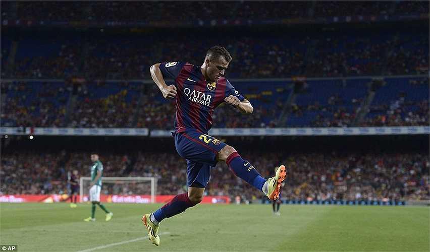 Sandro Ramirez là tài năng trẻ mới nhất được Barca cho ra mắt
