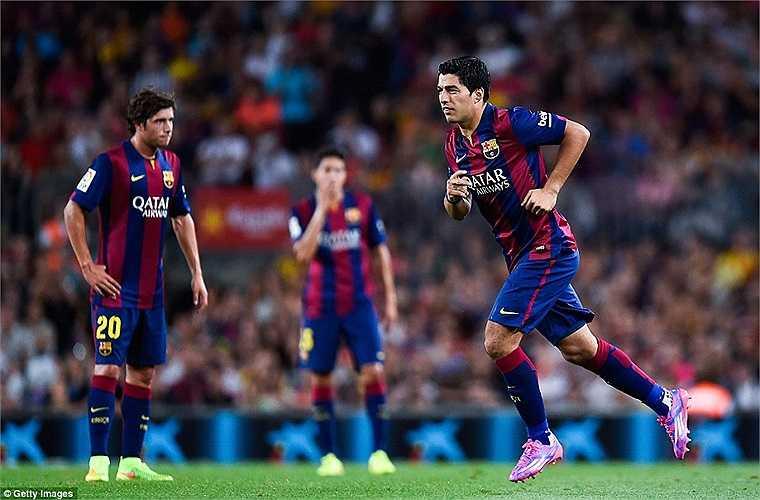 Suarez là bản hợp đồng đắt giá nhất Barca đưa về mùa này