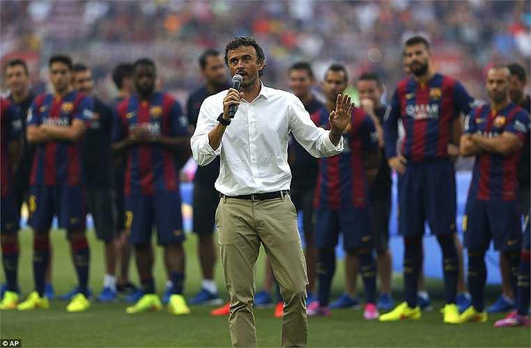 Luis Enrique có nhiều việc phải làm trên cương vị HLV trưởng Barca. Ông phải phá thế thăng hoa mà Real đang có được thời Ancelotti