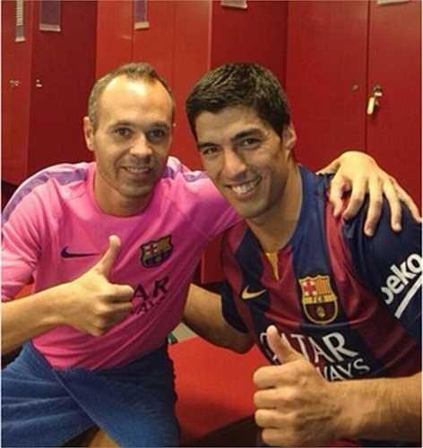 Các đồng đội hi vọng Suarez sẽ là sự bổ sung hợp lý để Barca đánh bại Real